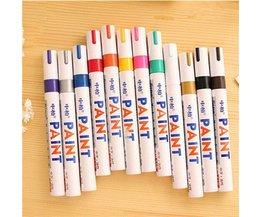 Kleurrijke Permanent Markers