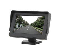 4.3 Inch Monitor Voor Achteruitrij Camera En GPS
