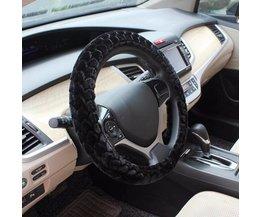 Pluche Hoes Voor  Het Stuur In De Auto