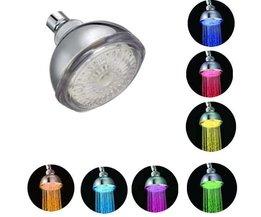 Kleurrijke LED Douchekop