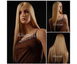 Blonde Pruik Synthetisch