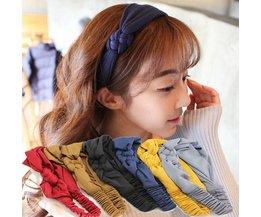 Elastische Haarband Gevlochten