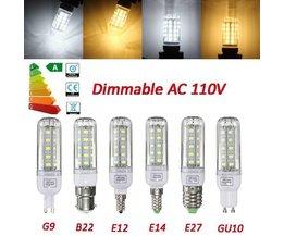 Dimbare LED Lamp Met Verschillende Fittingen