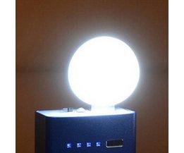 Noodverlichting LED met USB Aansluiting
