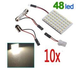 T10 LEDs Voor De Auto