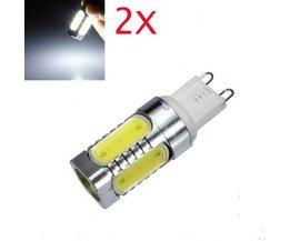 LED Lampen G9 Fitting 7 WATT