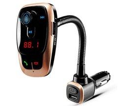 Transmitter Met Bluetooth Voor De Auto