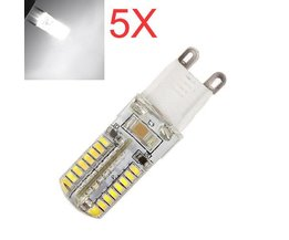 G9 LED Lampen 5W 5 Stuks