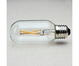 Retro LED 2 WATT met E27 Fitting
