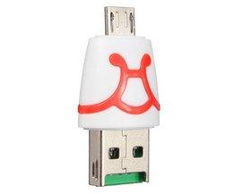 Micro USB Kaartlezer