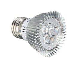 LED Bloeilamp 6W met E27 Fitting