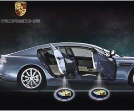 Porsche Logo LED Lamp Per Twee Stuks