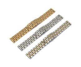 Horlogeband van Roestvrij Staal 16mm