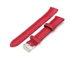 Horlogebandje in Rood, Oranje, Zwart of Wit