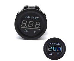 Digitale Voltmeter Auto 8-30V