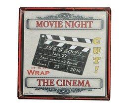 Film Decoratie Bord