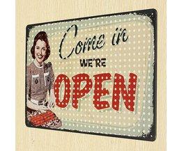"Vintage Borden ""Open"""
