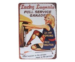 Vintage Bord Metaal