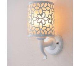 Muurverlichting met Bloemprint voor Binnen