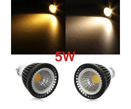 COB LED Lamp in Twee Lichtkleuren