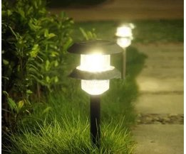 Tuinlampjes op Zonne-Energie