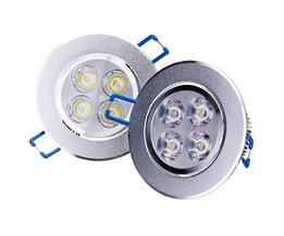 4W LED Plafondspot