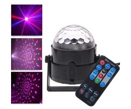 3 W LED Discobal