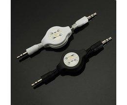 Oprolbare Kabel AUX