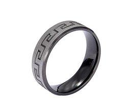 Heren Ring RVS