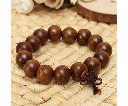 Bruin Boeddhistisch Armbandje