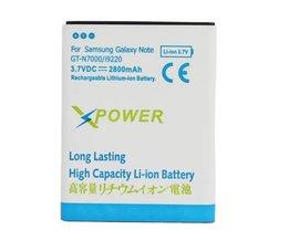 Vervangend batterij voor Samsung Note