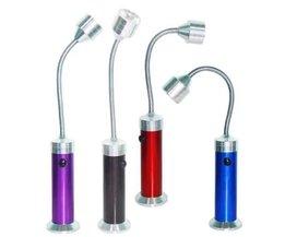 Draagbare LED Leeslamp Met Magneet