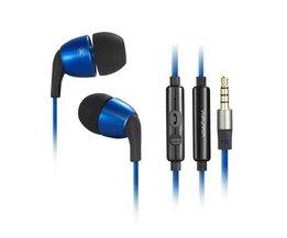 Wallytech In-Ear Oordopjes met Microfoon