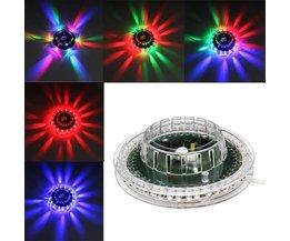 Discolicht LED Zonnebloem