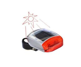 Fietsverlichting LED op Zonne-Energie