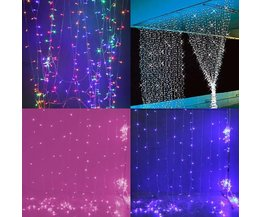 Kerstverlichting LED Gordijn 3x3 meter