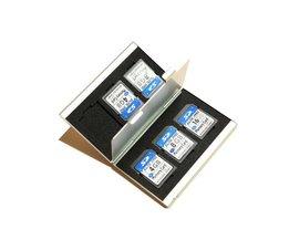 SD card Case voor 6 geheugenkaarten