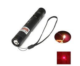 Laserpointer met Rood Licht