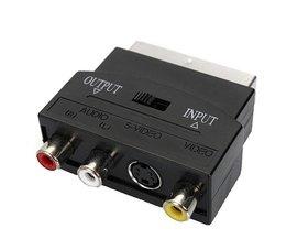 USB 2.0 Scart Adapter