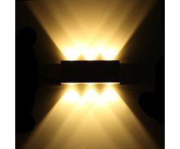 LED Wandlamp Decoratief met Warm Wit Licht