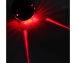 Fiets Achterlicht LED met Laserlampen
