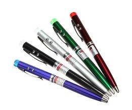 Multifunctionele Luxe Pen met Laser