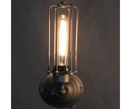 Retro Muurlamp met Industriële Uitstraling