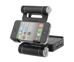 Verstelbare Powerbank voor iPhones en Tablets