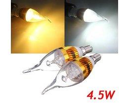 LED Kaarslamp E14 (4.5W)