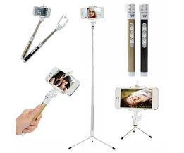 Dispho Bluetooth Selfie Stick met Tripod