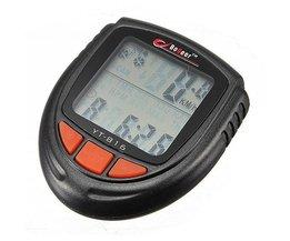 Waterbestendige LCD Fiets Snelheidsmeter