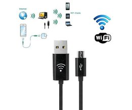 2 in 1 Wifi Hotspot Micro USB Kabel