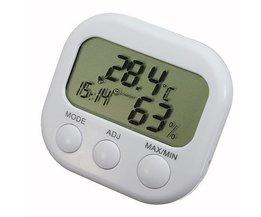 Digitale Temperatuur Vochtigheidsmeter