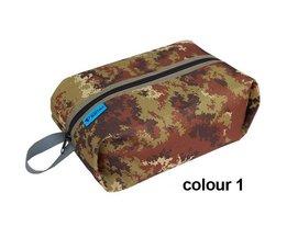 Bluefield Wandeltasje met Camouflagekleuren